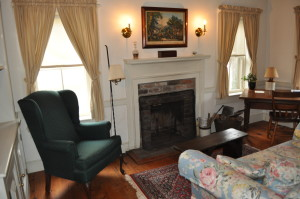 One of the Inn's living rooms